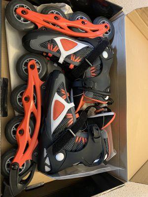 K2 Roller Skates | Like New | Men Size 10 for Sale in West McLean, VA