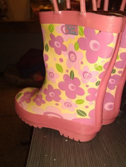Pluie Pluie Littke Girls Rain Boots Size 7 for Sale in Owensboro,  KY