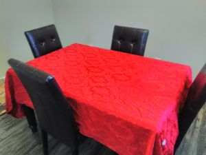 USED DINING/KITCHEN TABLE W/ 4 CGAIRS for Sale in MONTGOMRY VLG, MD