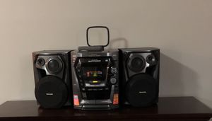 Panasonic 5 CD Stereo System for Sale in Chicago, IL