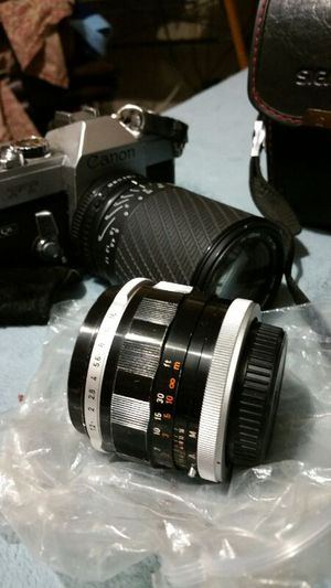 Canon Vintage Camera extra lens for Sale in Las Vegas, NV