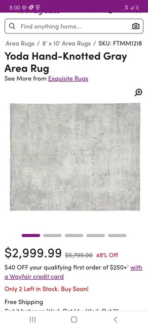 Hand woven wool rugs for Sale in San Diego, CA