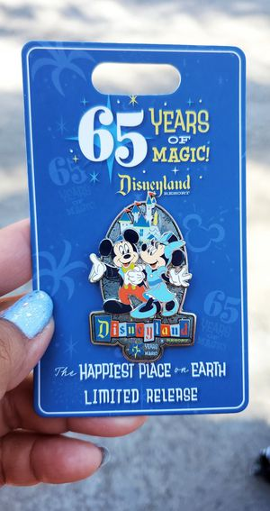 65th Anniversary Disneyland Pin for Sale in San Diego, CA