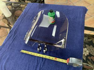 Motorcycle windshield, Wind Vest for Sale in Torrance, CA