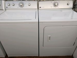 """""""MAYTAG CENTENNIAL"""" MATCHING SET WASHER AND ELECTRIC DRYER SUPER CAPACITY PLUS for Sale in Phoenix, AZ"""