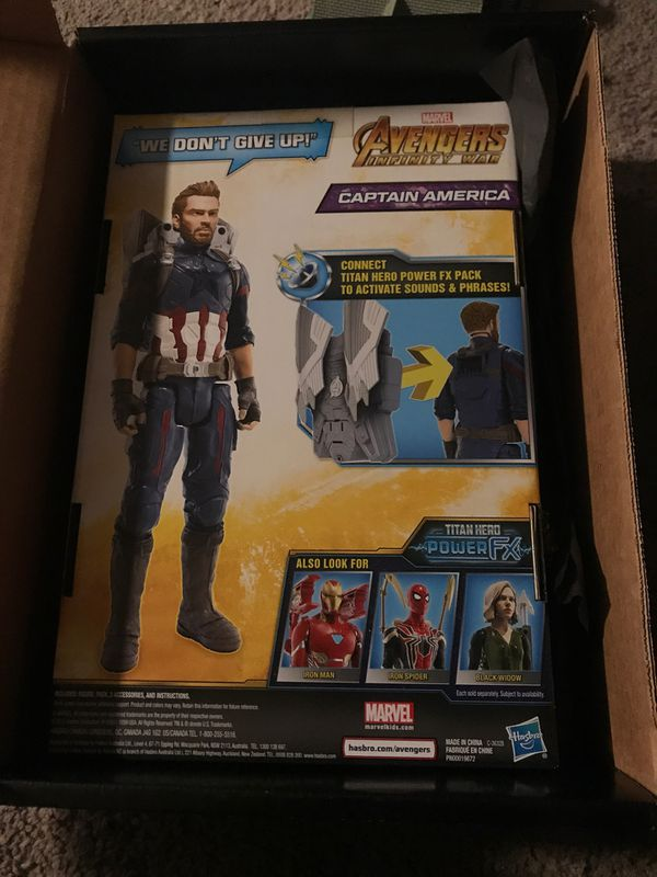New Special addition Captain America figure