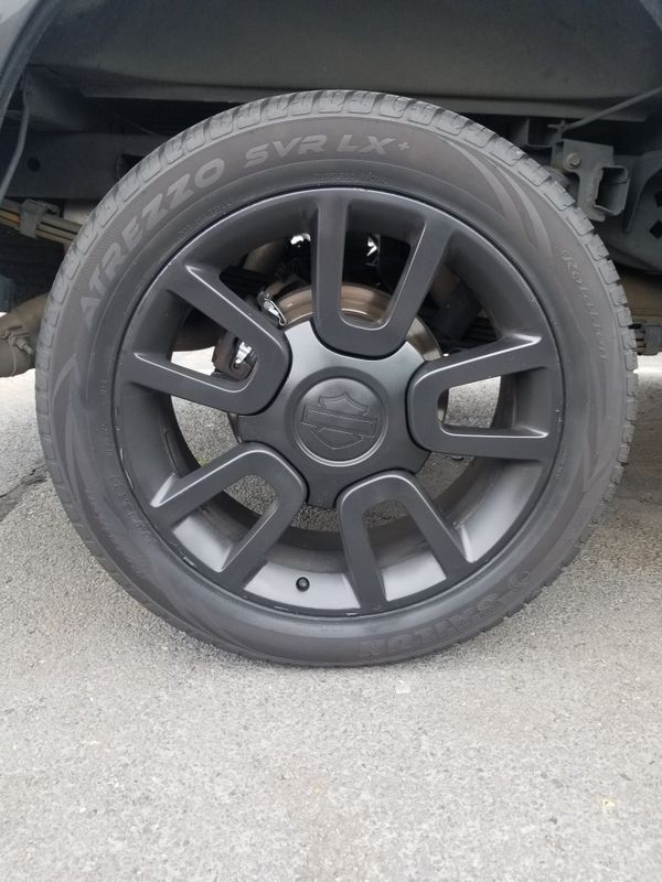 f150 wheels and tires harley davison series...
