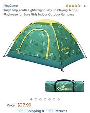 King camp tent ( never used ) for Sale in Kansas City, KS