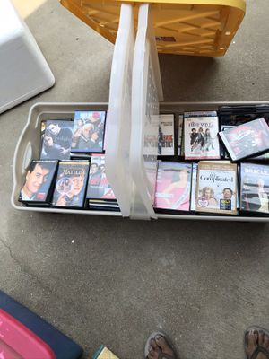 New/ used DVDs over 100+ movies in good/ great condition storage container not included for Sale in Fresno, CA