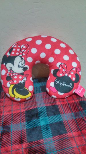 Minnie mouse Disney store travel pillow neck rest for Sale in Scottsdale, AZ