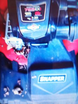 Snapper Easy Start Self Propelled Mower for Sale in Indianapolis,  IN