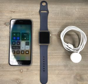 AT&T/Unlocked 16GB iPhone 6s W/1st Gen Apple Watch for Sale in Kearns, UT