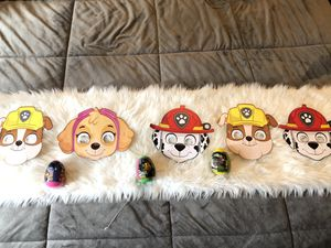 Paw patrol party decor for Sale in Oakland, CA