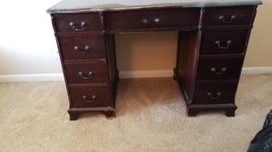 Vintage Wood Desk in Need of a Facelift - Antique DIY for Sale in Delray Beach, FL
