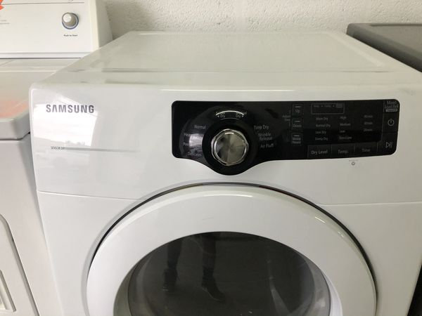 Samsung dryer large capacity