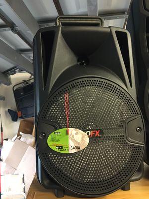 portable bluetooth speaker for Sale in Naples, FL