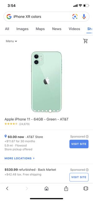 I phone 11 green for Sale in Brandon, MS