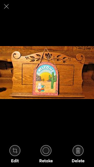 SPOONTIQUES Wall Hanging Plaque Southwestern for Sale in Lynchburg, VA