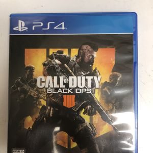 Call Of Duty Black Ops 4 PS4 for Sale in Houston, TX