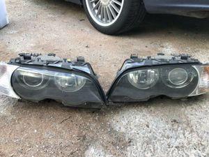 Bmw e46 xenon headlights for Sale in Burbank, CA