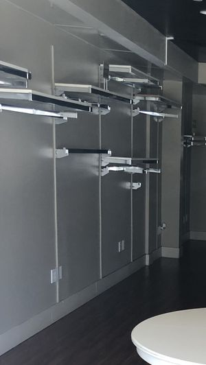Steel shelving system for retail or home for Sale in San Diego, CA