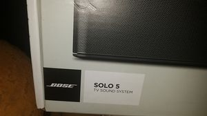 Bose Solo 5.. sound bar for Sale in Fresno, CA
