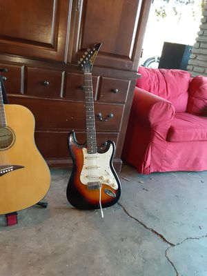 Playmate acoustic guitar and a Kramer electric guitar for Sale in Zephyrhills, FL