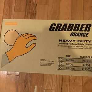 6 Mil Industrial Nitrile Gloves 1000 Count Case for Sale in Portland, OR