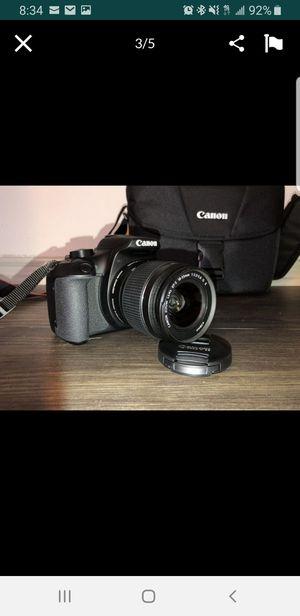 Canon t6 Rebel w/accessories (Good Condition) for Sale in San Antonio, TX