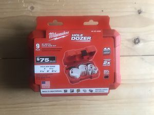 Milwaukee Hole Dozer General Purpose Bi-Metal Hole Saw Set (9-Piece) for Sale in Queens, NY