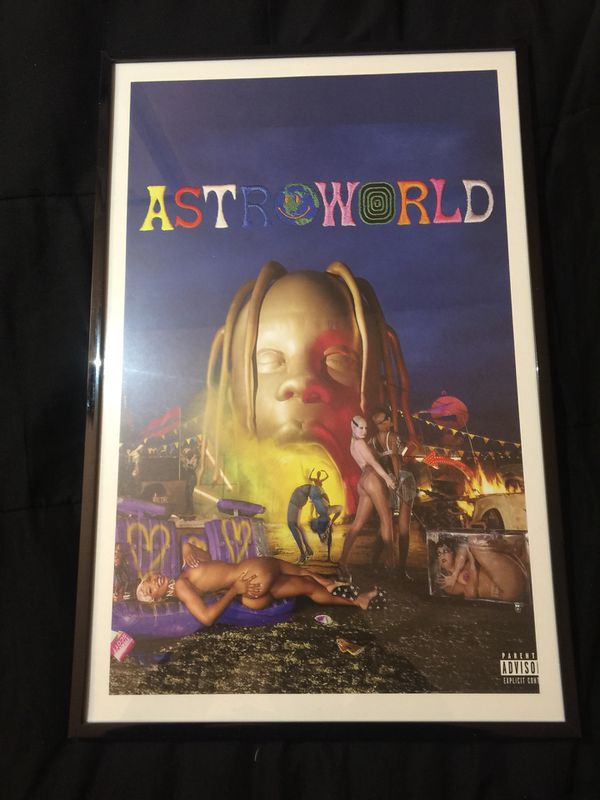 983a487b7b99 Travis Scott astroworld album cover print and poster in 11x17 inch ...