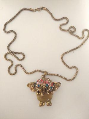 Elephant Necklace for Sale in Kearney, NE