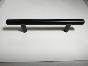 "Black matte 6-1/8"" SOLID Stainless Steel Kitchen cabinet Bar Handles (pulls) for Sale in Anaheim, CA"