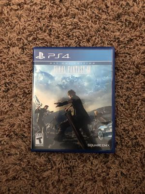 Final Fantasy XV: Day One Edition for Sale in Chippewa Falls, WI