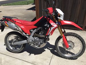 2017 Honda CRF250L with ABS & upgrades for Sale in Concord, CA