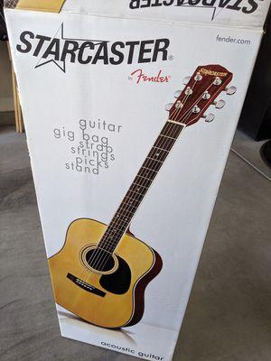 Fender Starcaster Acoustic Guitar for Sale in Las Vegas, NV