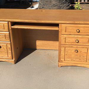 Desk Office Wood for Sale in La Mesa, CA
