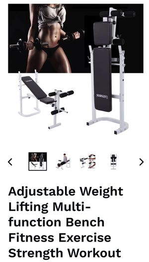 Adjustable weight bench for Sale in Moreno Valley, CA