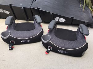 Two matching Graco Booster car seats for Sale in San Clemente, CA