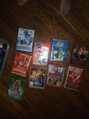 Have this nice lot of Disney DVD movies for sale you can pass down to the next generation they're all the classics you and your kids will love them for Sale in Columbus, OH