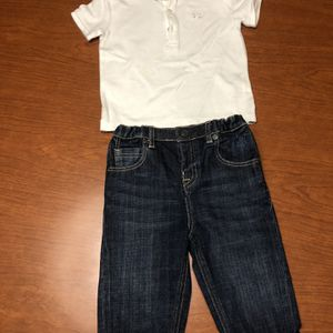 Burberry Boys Jeans And Polo Shirt for Sale in Weston, FL