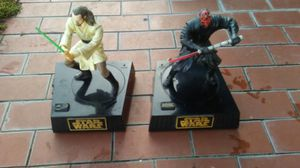 Star wars toys collectible iron good condition for Sale in Kissimmee, FL