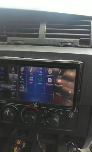 JVC DOUBLE DIN CD/DVD for Sale in Orange, TX