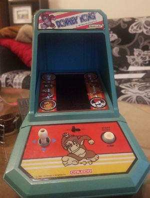1981 mini arcade Donkey Kong game-Still works! for Sale in OR, US