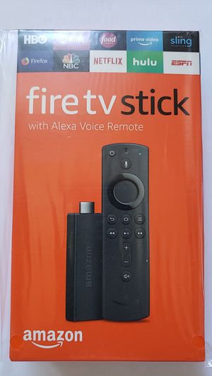 Amazon Fire TV Stick with Alexa voice remote for Sale in Tacoma, WA