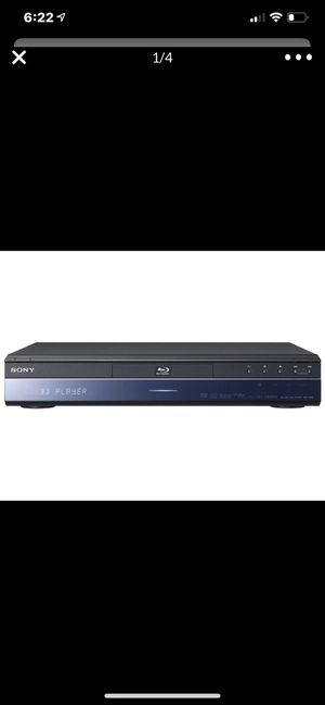 Sony - BEST Blue Ray DVD Disc Player Like New for Sale in Pasadena, CA