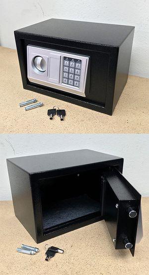 "(NEW) $40 Digital 12""x8""x8"" Security Safe Box Electric Keypad Lock Money Jewelry w/ Master Key for Sale in South El Monte, CA"