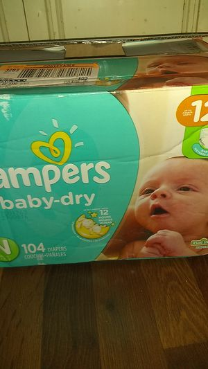 Pampers for Newborns for Sale in HOFFMAN EST, IL