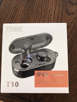 New Bluetooth Wireless Earbuds Waterproof Built-in Mic Earphones for Sale in Maryland Heights, MO