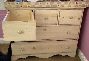 4 piece hand painted and hand made baby/ child furniture for Sale in San Diego, CA